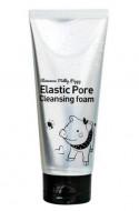 Пенка с древесным углем для очищения и сужения пор ELIZAVECCA Face Care Milky Piggy Elastic Pore Cleansing Foam: фото