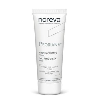 Крем успокаивающий увлажняющий Noreva Psoriane 40мл: фото