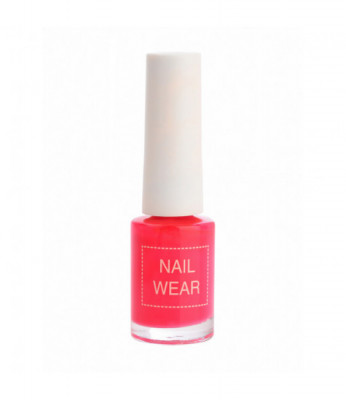 Лак для ногтей The Saem Nail Wear 04.Hot pink 7мл: фото