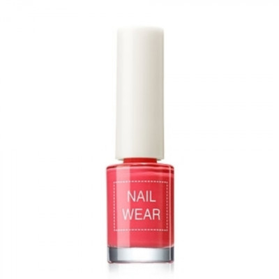 Лак для ногтей The Saem Nail Wear 05.bright red 7мл: фото
