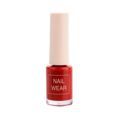 Лак для ногтей The Saem Nail Wear 07. Red show 7мл: фото