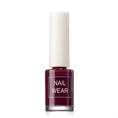 Лак для ногтей The Saem Nail Wear 14_ Deep Purple 7мл: фото