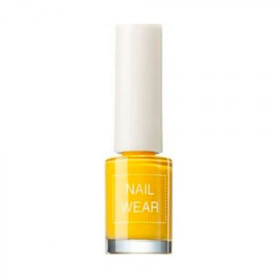 Лак для ногтей The Saem Nail Wear 23_ Forsythia Yellow 7мл: фото