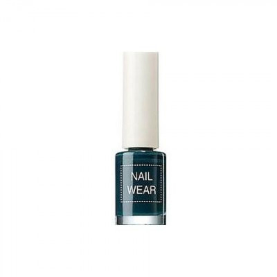 Лак для ногтей The Saem Nail Wear 27_ Deep kaki 7мл: фото