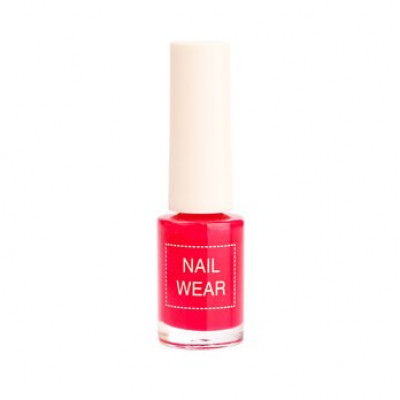 Лак для ногтей The Saem Nail Wear 79.Rosy red 7мл: фото