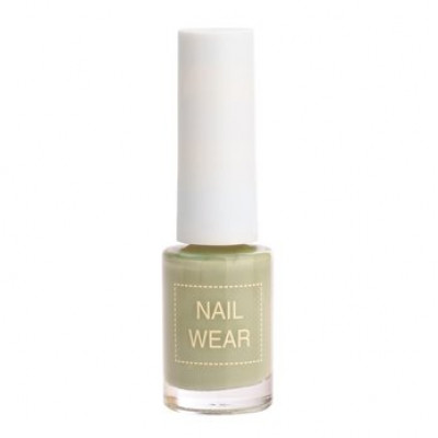 Лак для ногтей The Saem Nail Wear 86.Jungle mint 7мл: фото