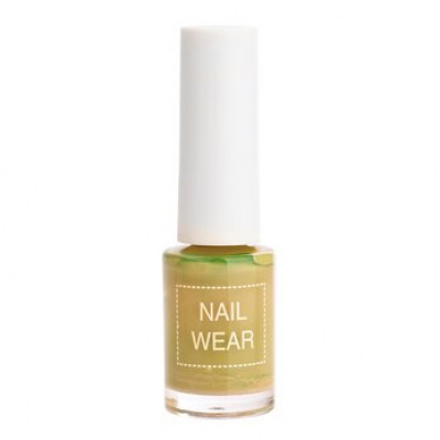 Лак для ногтей The Saem Nail Wear 87.Fresh olive 7мл: фото