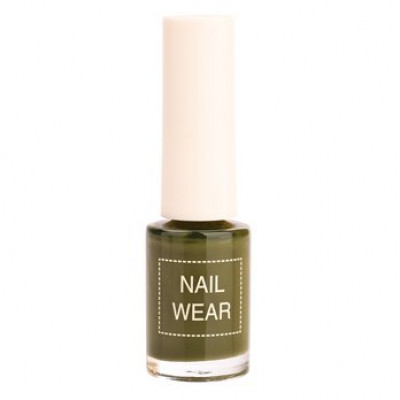Лак для ногтей The Saem Nail Wear 88.Quiet green 7мл: фото