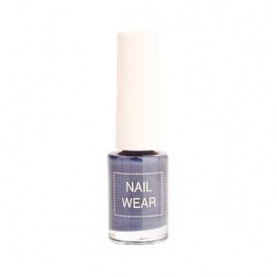 Лак для ногтей The Saem Nail Wear 91.Dust grey 7мл: фото