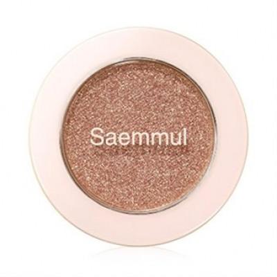 Тени для век с глиттером THE SAEM Saemmul Single Shadow Glitter PK05 1,6гр: фото