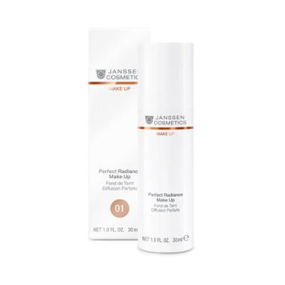 Тональный крем с UV-защитой SPF-15 Janssen Cosmetics Perfect Radiance Make Up №01 порцелан 30мл: фото