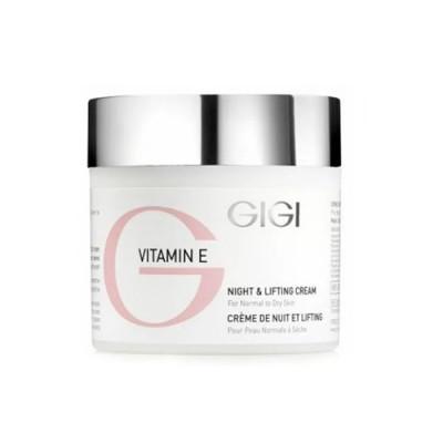 Крем ночной лифтинговый Витамин Е GIGI Vitamin E Night&Lifting cream 50 мл: фото