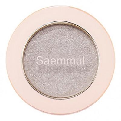 Тени для век с глиттером THE SAEM Saemmul Single Shadow Glitter WH02 1,6гр: фото