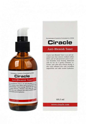 Тонер для проблемной кожи Ciracle Anti-blemish Toner 105,5мл: фото