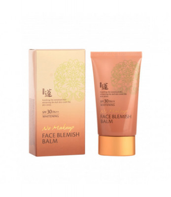 ВВ-крем Welcos Lotus No Make-Up Blemish Balm 50мл: фото