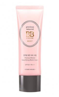 BB-крем увлажняющий ETUDE HOUSE Precious Mineral BB Cream Moist Vanilla SPF50+/PA+++ 45мл: фото