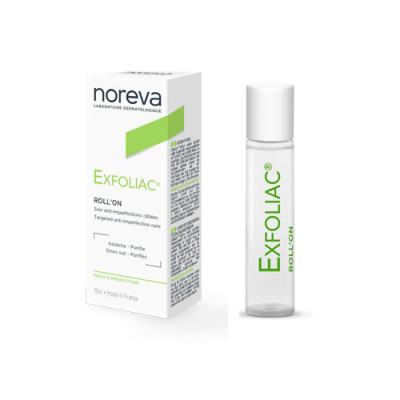 Роликовый карандаш Noreva Exfoliac 5мл: фото