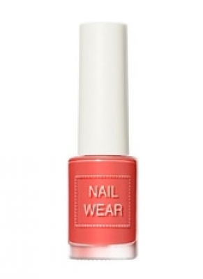 Лак для ногтей THE SAEM Nail wear 99. Grapefruit Coral 7мл: фото