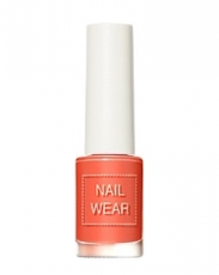 Лак для ногтей THE SAEM Nail wear 98. Cozy Coral 7мл: фото
