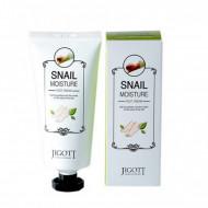 Крем для ног увлажняющий с улиточным муцином JIGOTT Snail Moisture Foot Cream: фото