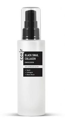 Эмульсия антивозрастная с муцином улитки и коллагеном COXIR Black Snail Collagen Emulsion 100мл: фото