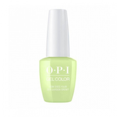 Гель для ногтей OPI GelColor GCT86 How Does Your Zen Garden Grow? 15мл: фото