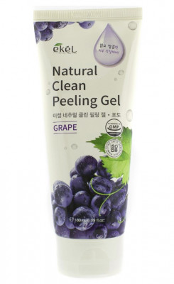 Пилинг для лица с экстрактом винограда Ekel Peeling Gel Grape 180 мл: фото