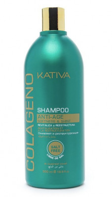Коллагеновый шампунь для всех типов волос Kativa COLAGENO 500мл: фото
