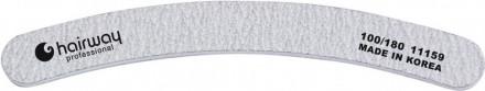 Пилка бумеранг, зебра Hairway 100/180: фото