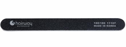 Пилка стандарт, черная Hairway 180/180: фото