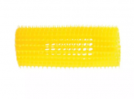 Бигуди пластиковые Eurostil 31мм, желтые 8шт: фото