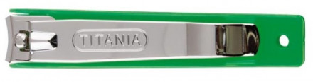Книпсер для ногтей Titania 9см разные цвета: фото