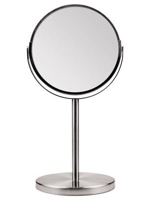 Зеркало Titania настольное двойное D-16см 1597 2-кр.увелич.: фото