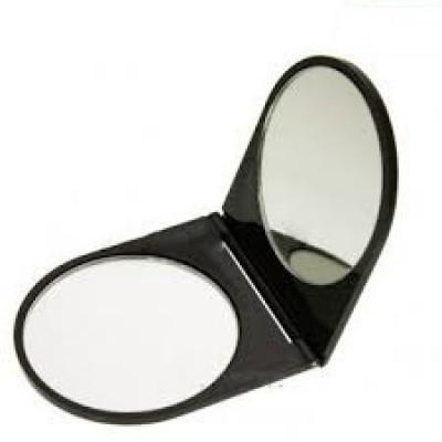 Зеркало двойное складное карманное Titania 55 мм: фото
