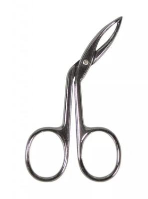 Пинцет-ножницы Titania серебристый: фото