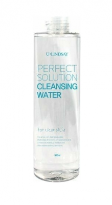 Очищающая вода для снятия макияжа Lindsay Perfect Solution Cleansing Water 300мл: фото