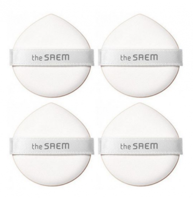 Набор спонжей косметических THE SAEM Art'Lif Water Drop Cushion Puff (4P): фото