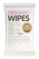 Салфетки влажные для снятия макияжа Organic Shop 20шт: фото
